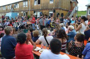 wei4-Sommerfest Flüchtlinge